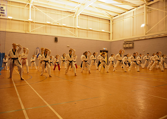 Specific poomsae team training